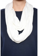 Women Scarf Pieces Dysis Tube Scarf Creme