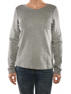 Bluza Dama Noisy May Nmveronika L / S Sweat Light Grey Melange