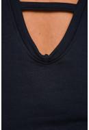 Bluza Dama Noisy May Nmveronika L / S Sweat Total Eclipse