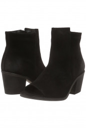 Botine Dama Vero Moda Vmisabella Leather Boot Negru