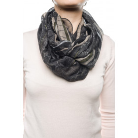 Women Scarf Vero Moda Wp-blixen Tube Scarf Asphalt