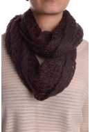 Women Scarves Pieces Diella Tube Scarf Wine Red