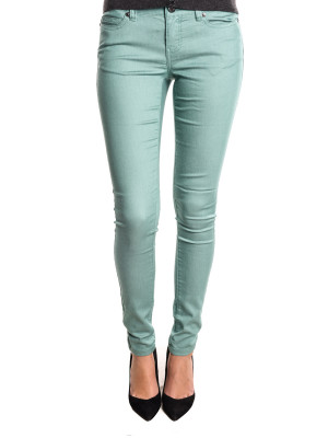 Blugi Dama Noisy May Nmeve Lw Super Slim Jeans Gu207 Oil Blue