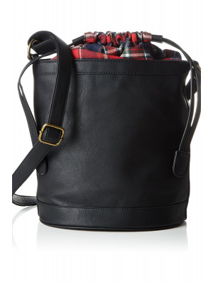 Poseta Dama Vero Moda Vmcheck Tighten Bag Negru
