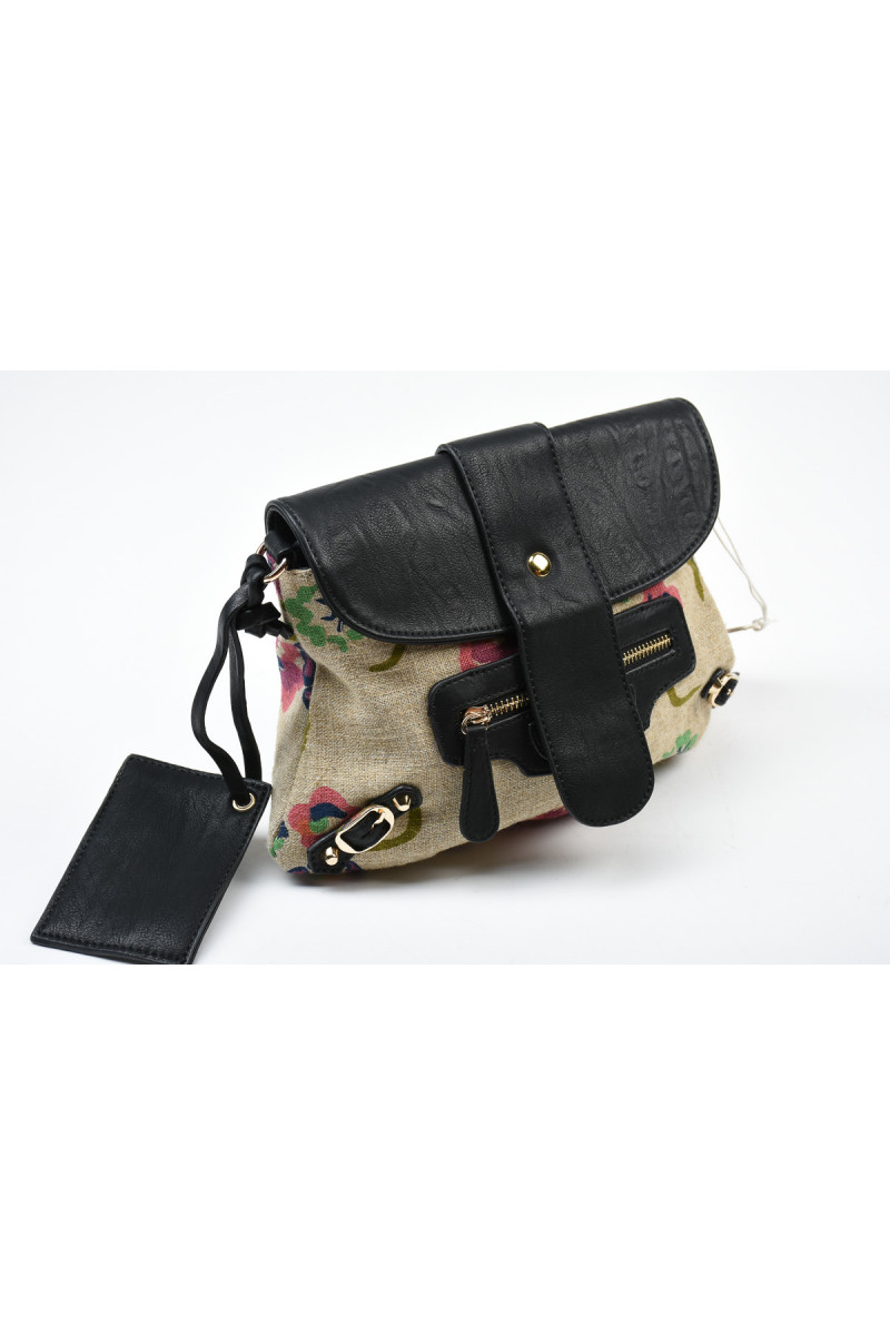 Women Purse Charmant E-4009 Black