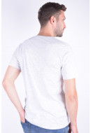 Tricou Barbati Jack&Jones Jortort Tee Ss Crew Neck Cloud Dancer Tap Shoe