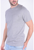 Tricou Barbati Jack&Jones Jjepocket Tee Ss O-neck Light Grey Melange