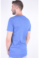 Tricou Barbati Jack&Jones Jconuected Tee Ss Crew Neck Nautical Blue