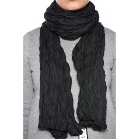 Esarfa Dama Pieces Mystic Long Scarf Negru