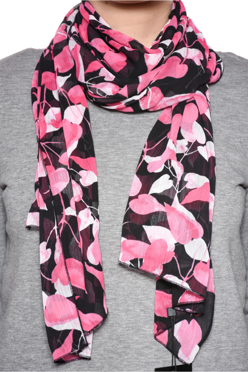 Women Scarves Signature 4578 Pink