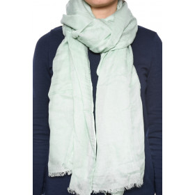 Women Scarves Vero Moda Vmcolor Long Scarf Aqua Foam