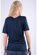 Tricou Dama Kaffe Stine T-shirt  Navy