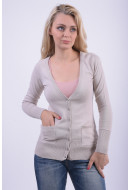 Cardigan Dama Sublevel D9600m90316a Bej Deschis