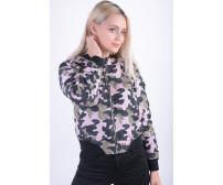 Geaca Dama Vero Moda Vmdicte Printed Short Jacket Mermaid / Camo