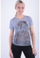 Women T-shirt Vila Vieagles T-shirt Eventide