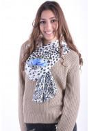 Women Scarves Brandtex 4318 Blue