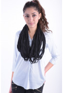 Women Scarves Pieces Eliha Tube Scarf Black
