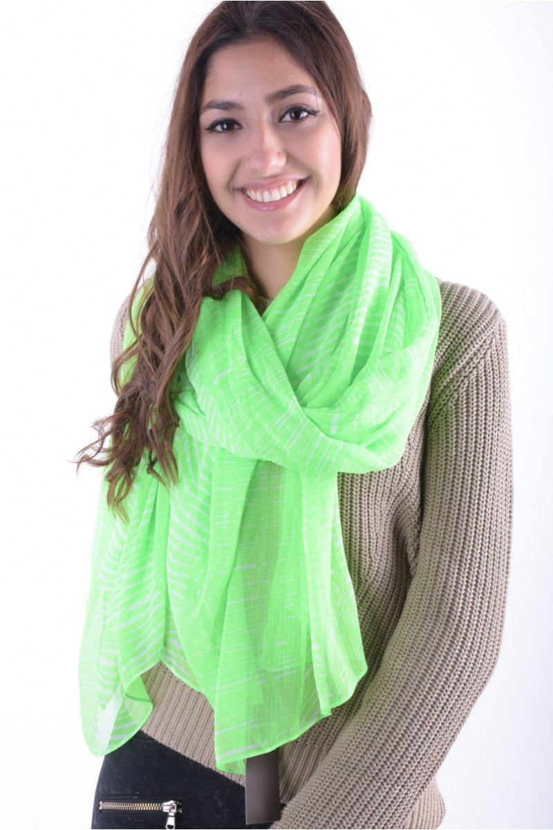 Esarfa Dama Pieces Isulla Long Scarf Verde