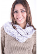 Esarfa Dama Pieces Mamuku Shop Tube Scarf Animal Print