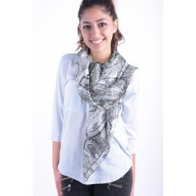 Women Scarves Pieces Pcjise Scarf Black