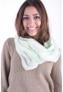 Esarfa Dama Pieces Pcvic Tube Scarf Pastel Green Whitecap Gray
