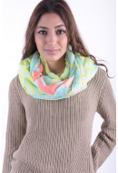 Esarfa Dama Pieces Ps Valli Tube Scarf Mellow Yellow
