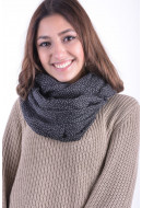 Women Scarves Vero Moda Wp Crystal Tube Scarf Black