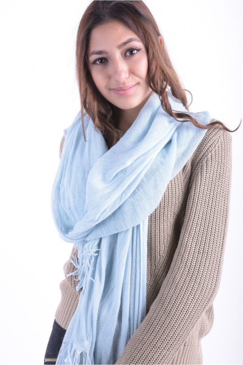 Women Scarves Pieces Maat Scarf Cool Blue