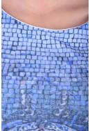 Rochie Dama Rainbow 6-42123 Albastru