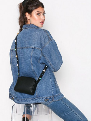 Poseta Dama Vero Moda Vmfunny Studs Crossover Bag Negru
