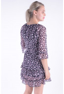 Rochie Dama Vero Moda Vmkarina 3/4 Dress Night Sky / Karina Nig