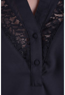 Women Tunic Vero Moda Vmclare Lace Ls Tunic Black