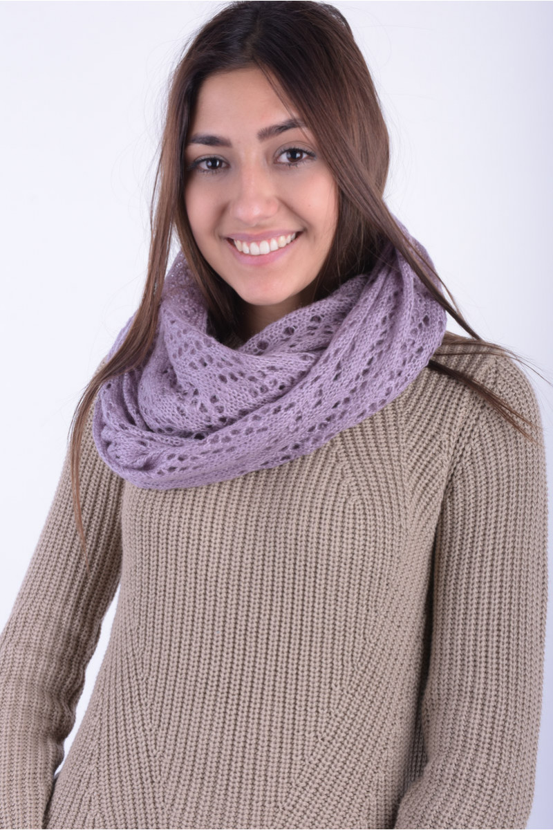 Fular Dama Pieces Ket Tube Scarf Ederberry