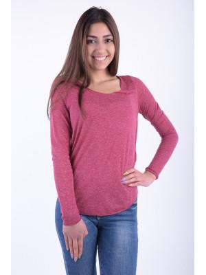 Bluza Dama Vero Moda Vmlua Ls Top Noos Beet Red