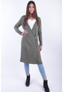 Cardigan Dama Noisy May Nmfly Ls Long Knit Cardigan Ivy Green