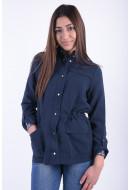 Jacheta Dama Vero Moda Vmsanna L/s Blazer Dnm Navy Blazer