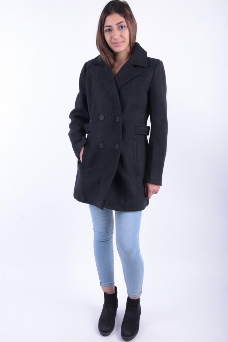Palton DamaVila Visound Coat Negru