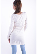 Bluza Dama Vila Officiel L / S Long Top Pristine
