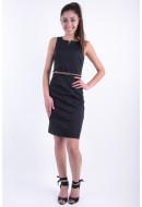 Rochie Dama Vero Moda Vmpekaya Sl Short Dress Negru