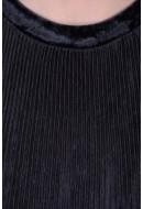 Bluza Dama Pieces Pcvella 3/4 Top Negru