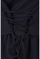 Bluza Dama Pieces Pcosilla Ls Top Negru