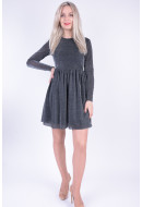 Rochie Dama Pieces Pcrima Ls Dress Negru