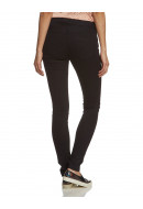 Pantaloni Dama Noisy May Fame Nw Copated Zip Pants Negru