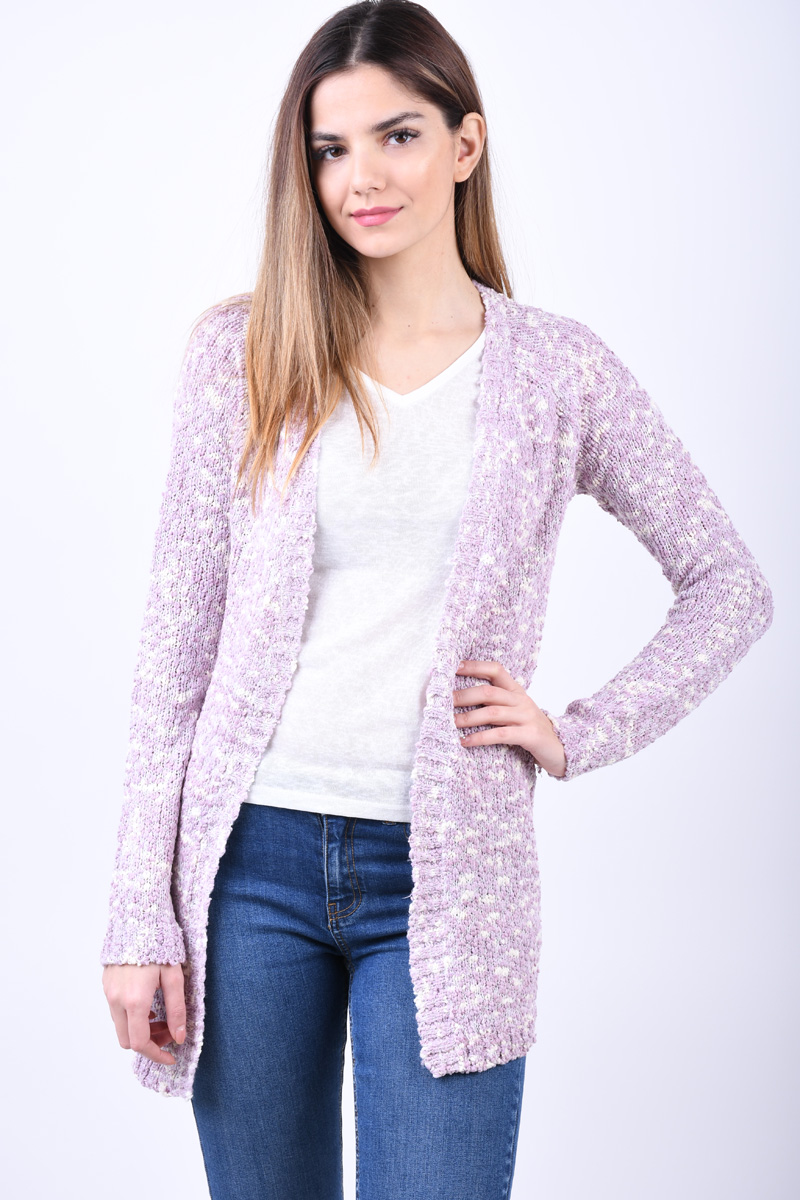 Cardigan Dama Fresh Made D9035A90542A Light Rose