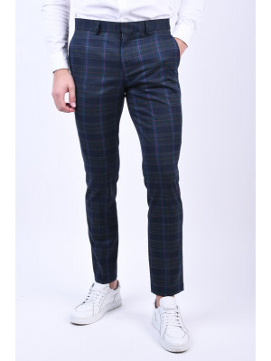 Pantaloni Barbati Selected Slim-Mylolgan Navy Blazer