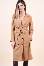 Trench Dama Vero Moda Marianne Tobacco Brown