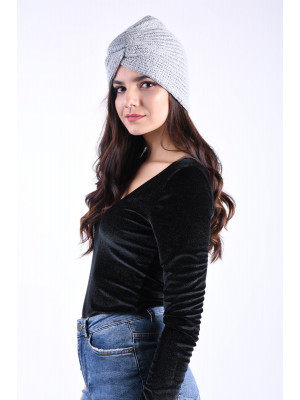 Turban Pieces Furbi Light Grey Melange