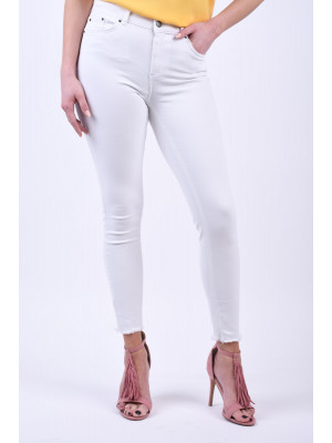 Blugi Dama Pieces Delly Mw Skinny B300 Bright White