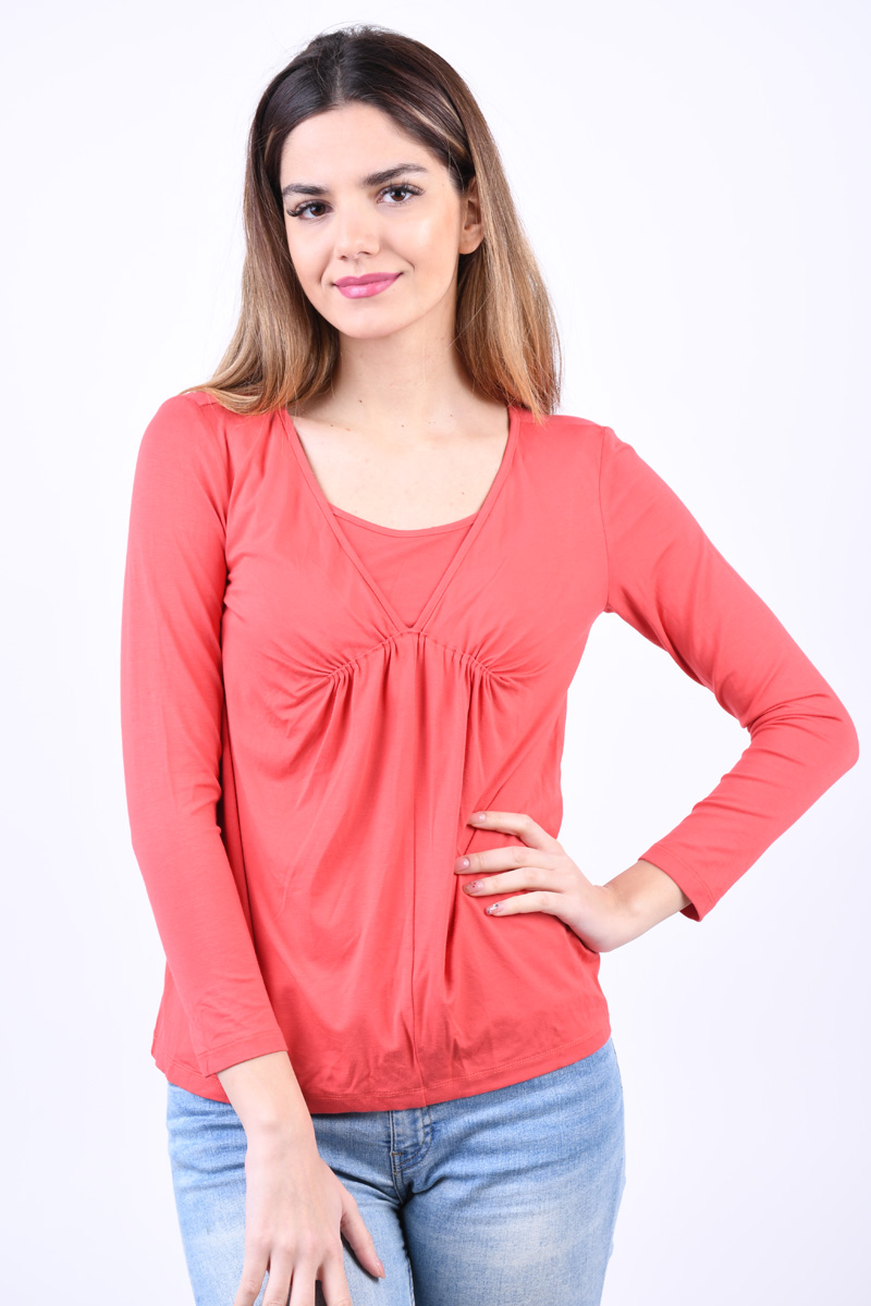 Bluza Dama Mama Lucious Addie Nell Spiced Coral