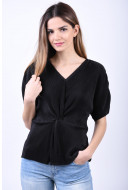 Bluza Dama Pieces Nini Black